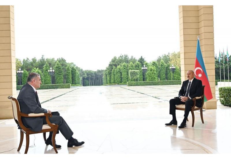 Хроника Победы: Интервью Президента Ильхама Алиева турецкому телеканалу «TRT Haber» от 5 октября 2020 года