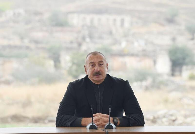 Президент Ильхам Алиев: Если бы великий лидер не заложил как следует основу этой страны, не построил государственность, то сегодня о Победе не могло бы быть и речи