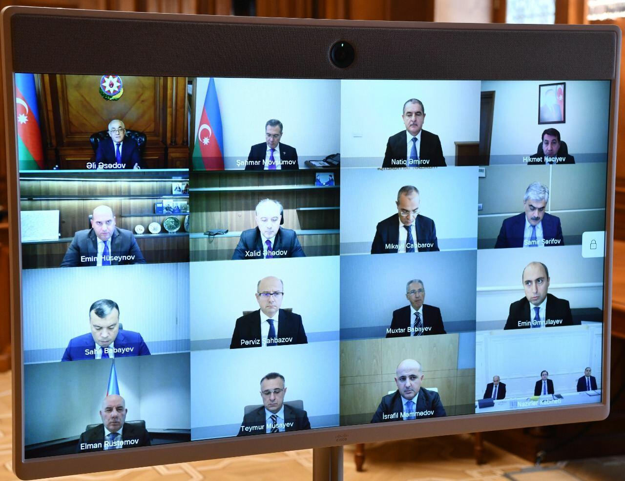 Состоялось очередное заседание Экономического совета Азербайджана