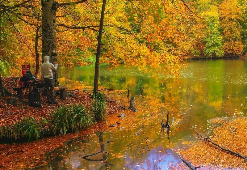 Завораживающая осень на озере Гаранохур