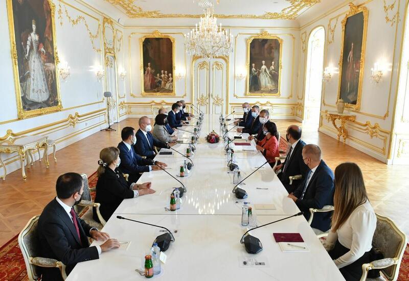 Сахиба Гафарова встретилась с председателем Национального Совета Словакии
