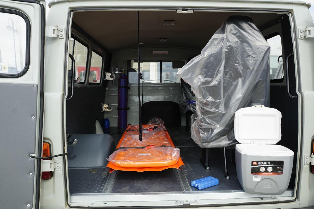 В Карабах поставлены автомобили скорой помощи