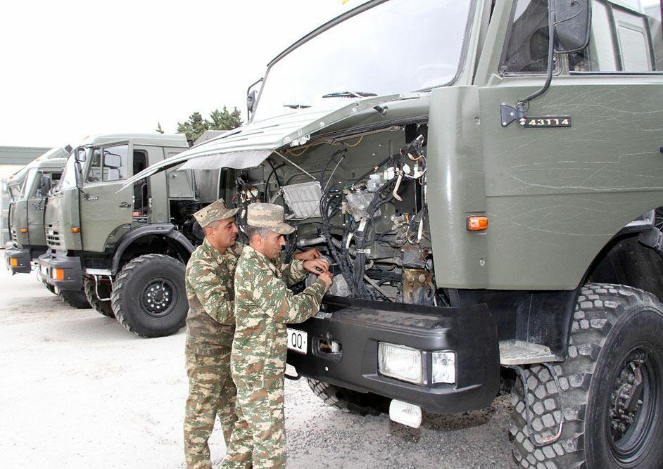 В азербайджанской армии начался процесс подготовки к зимнему сезону