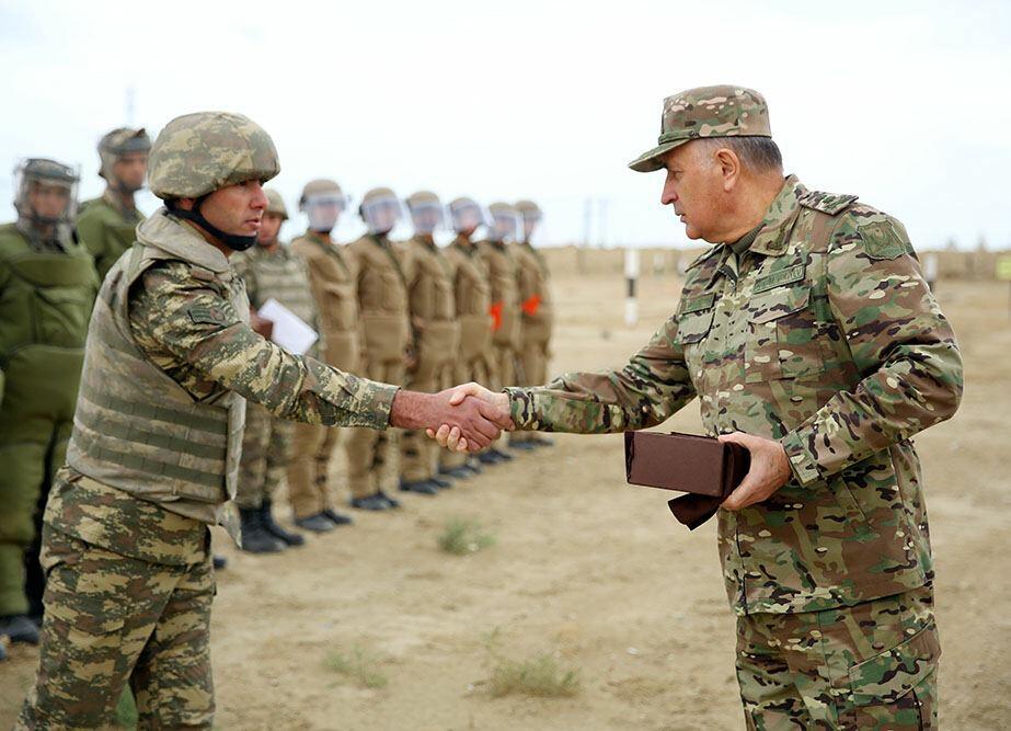 Начальник Генштаба Азербайджанской Армии посетил воинские части инженерно-сапёрных войск