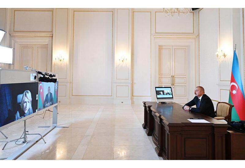 "Хроника Победы: Интервью Президента Ильхама Алиева телеканалу ""Sky News"" от 9 октября 2020 года"