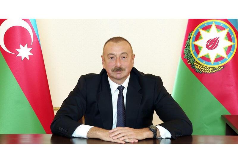 Хроника Победы: Обращение Президента Азербайджана Ильхама Алиева к народу 9 октября 2020 года