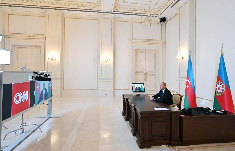 Хроника Победы: Интервью Президента Ильхама Алиева в передаче «The Connect World» телеканала CNN International от 9 октября 2020 года