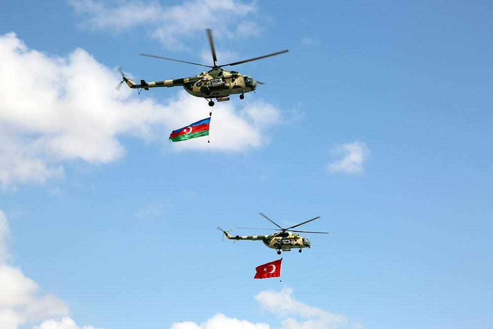 Азербайджан и Турция провели боевые стрельбы в рамках учений «Нерушимое братство-2021»
