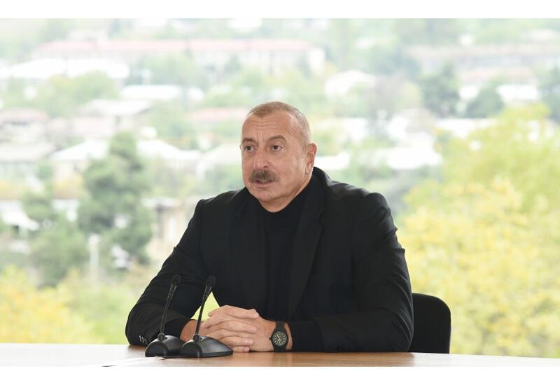 Президент Ильхам Алиев: Именно врачи были одной из причин того, что у нас было не так много шехидов
