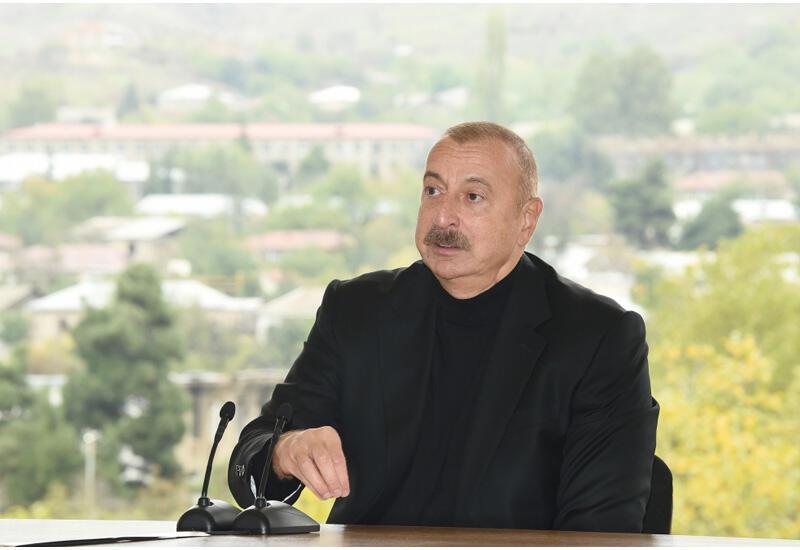 Президент Ильхам Алиев: Сегодня для Гадрута и Карабаха в целом начинается новая эра