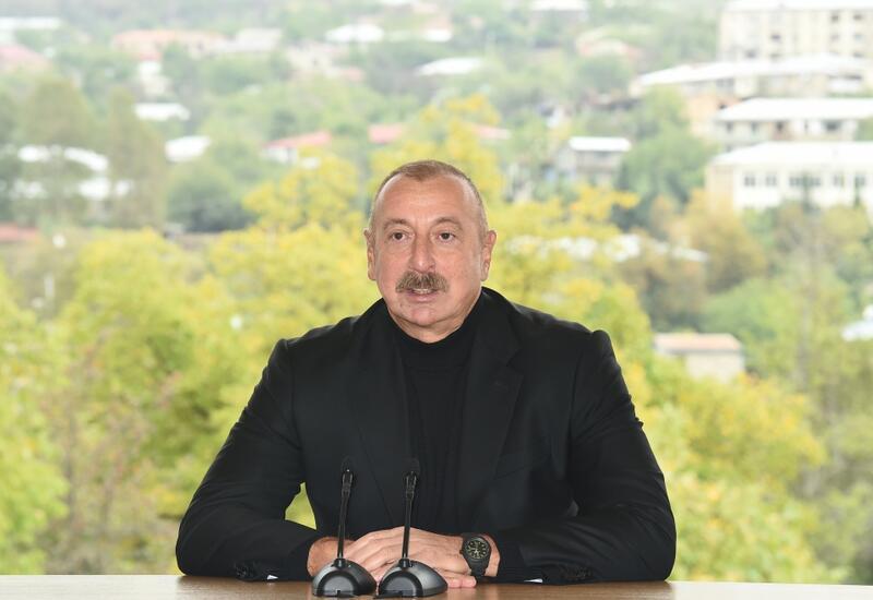 Президент Ильхам Алиев: Основным направлением развития поселка Гадрут и Ходжавендского района станет сельское хозяйство