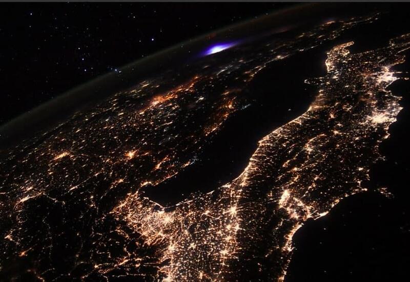 Астронавт сделал удивительную фотографию на борту МКС