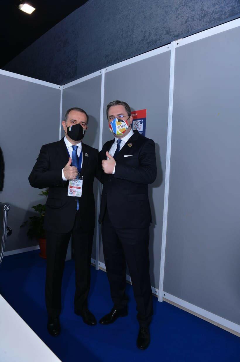 Состоялась встреча глав МИД Азербайджана и Сербии