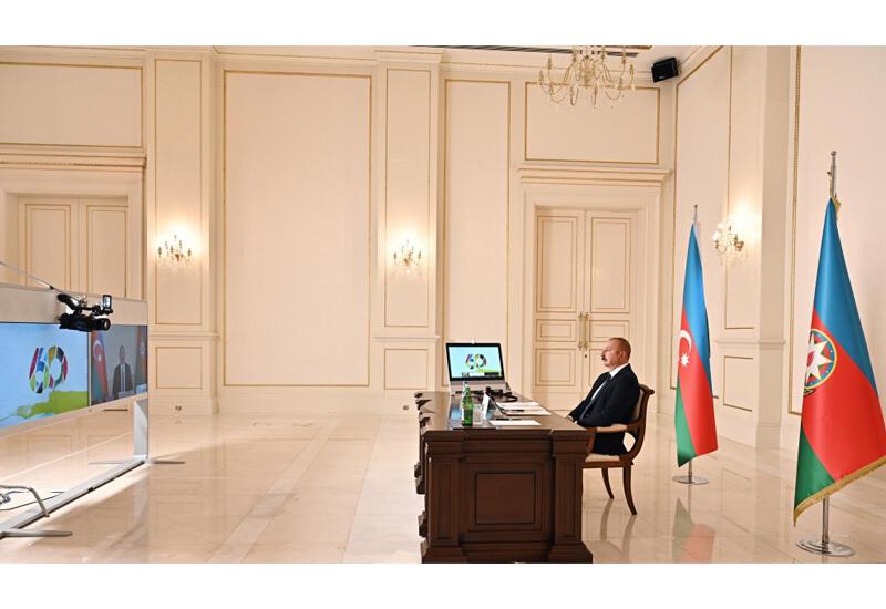 Президент Ильхам Алиев: Азербайджан сам обеспечил исполнение резолюций Совета Безопасности ООН