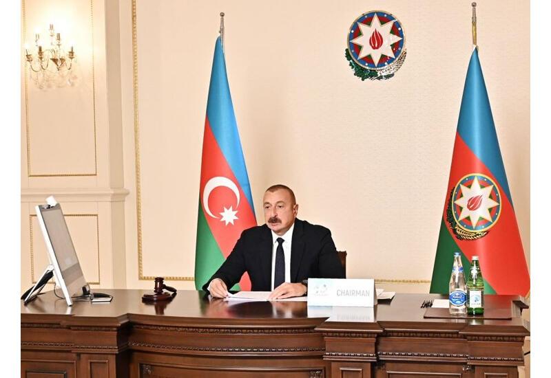 Президент Ильхам Алиев: Против Армении не вводились санкции, между государством-агрессором и государством, подвергшимся оккупации, не было сделано различий