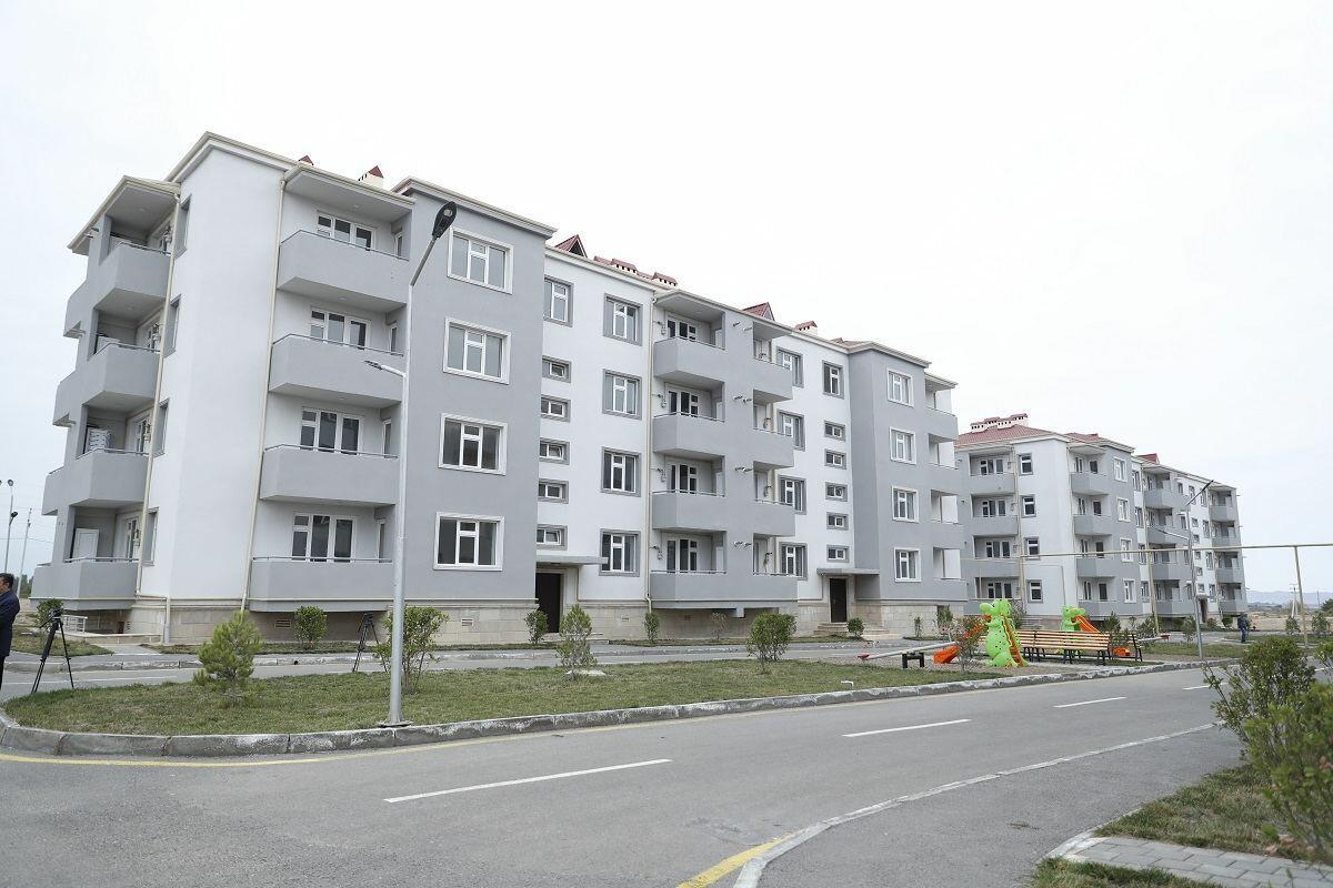 В Самухе открылся новый жилой комплекс для семей шехидов и инвалидов войны
