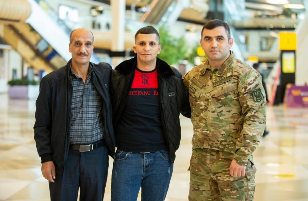 Фонд YAŞAT отправил на лечение в Турцию еще 4 ветеранов