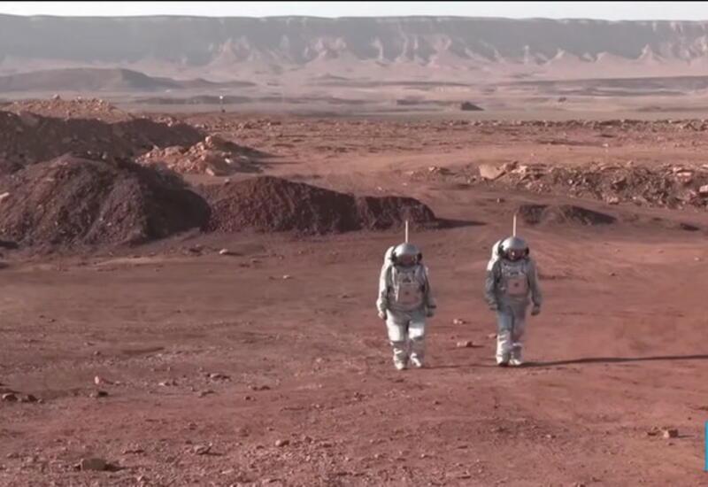 В израильской пустыне начался эксперимент по имитации жизни на Марсе