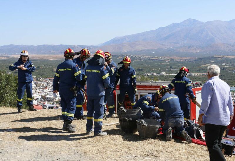 Сильное землетрясение произошло в Греции