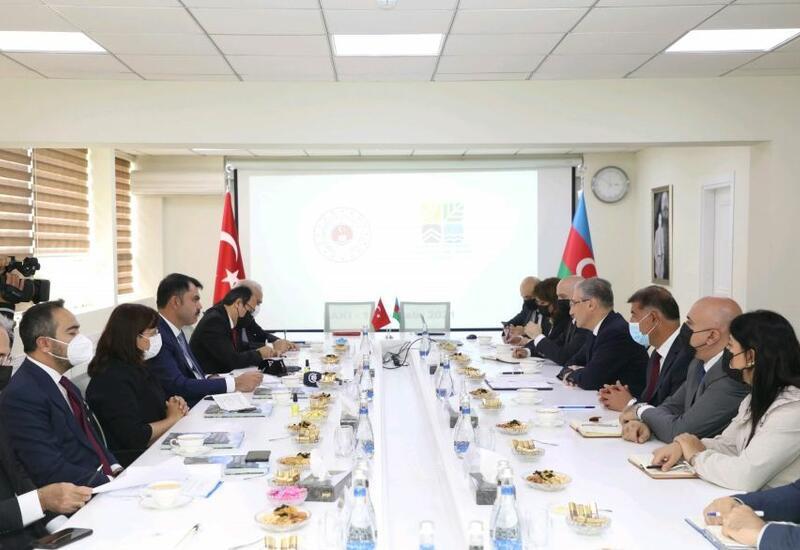 Азербайджан и Турция подписали соглашение о сотрудничестве в области охраны окружающей среды