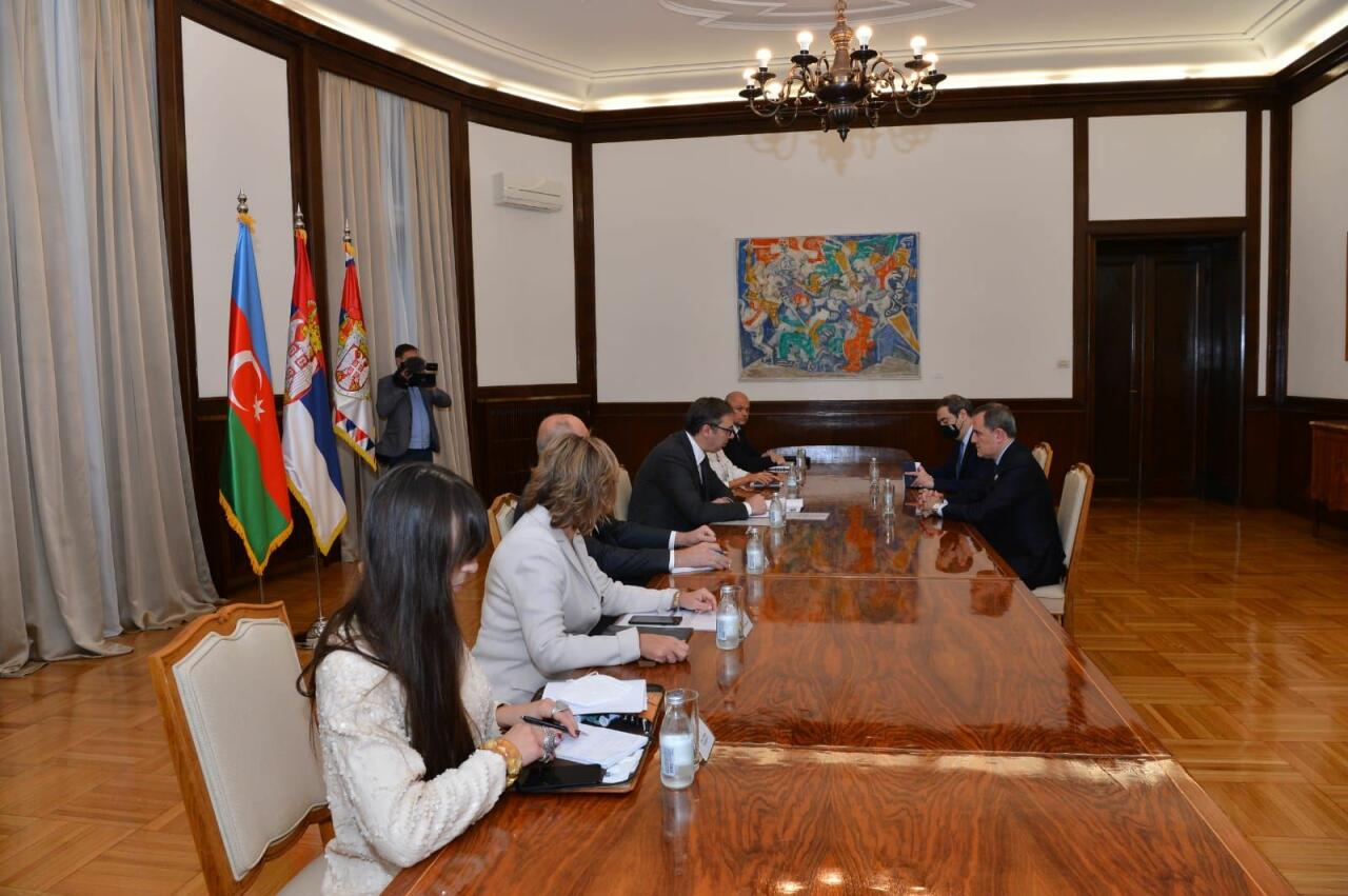 Президент Сербии принял главу МИД Азербайджана