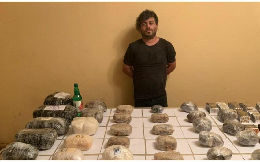 Пресечена контрабанда из Ирана в Азербайджан более 100 кг наркосредств