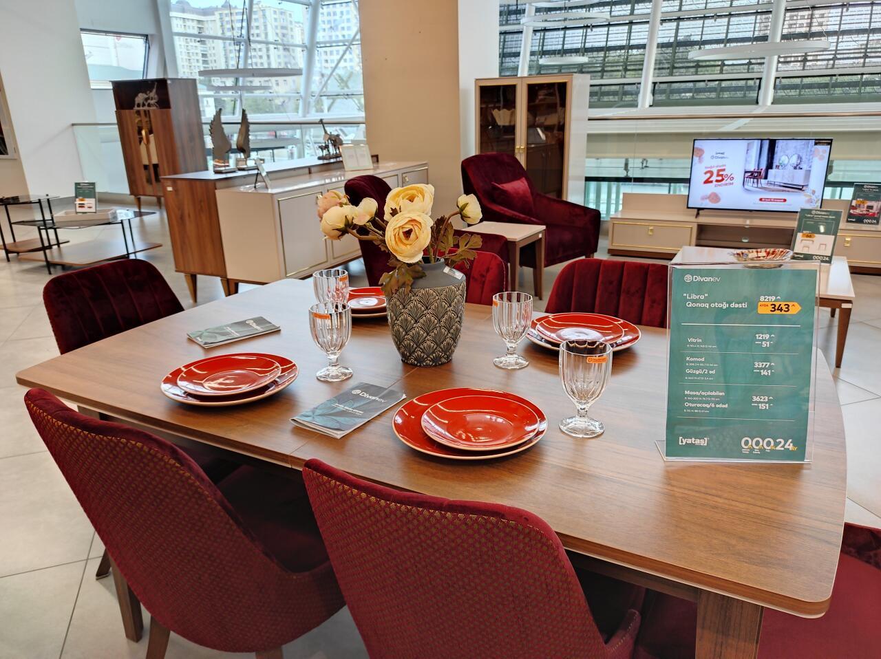 Мебель, посуда и текстиль - все для вашего дома теперь в магазинах Baku Electronics