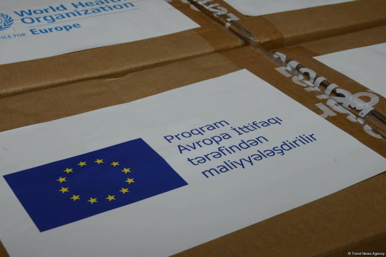 ЕС и ВОЗ передали Азербайджану помощь для борьбы с коронавирусом