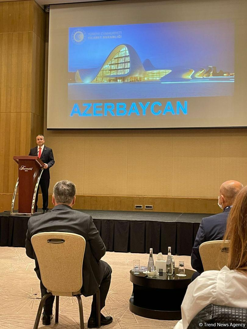 В Баку прошел азербайджано-турецкий бизнес-форум