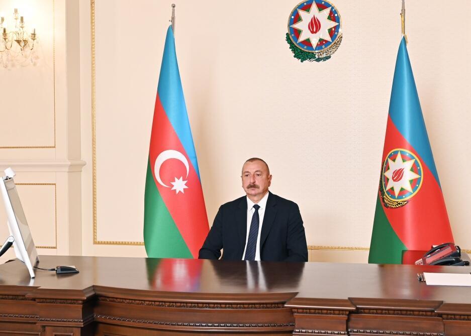Президент Ильхам Алиев дал интервью итальянской газете La Repubblica