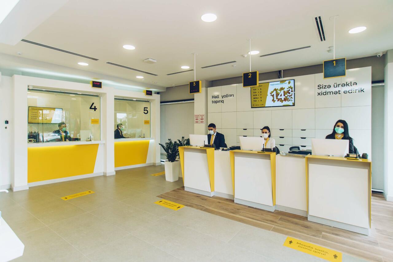 Yelo Bank открыл филиал «Халглар Достлугу» в новой концепции