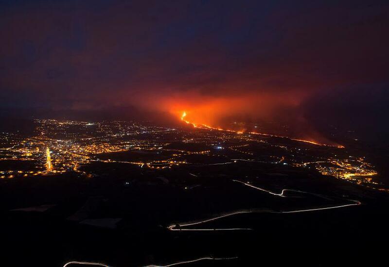 Массовая эвакуация на Канарах из-за извержения вулкана