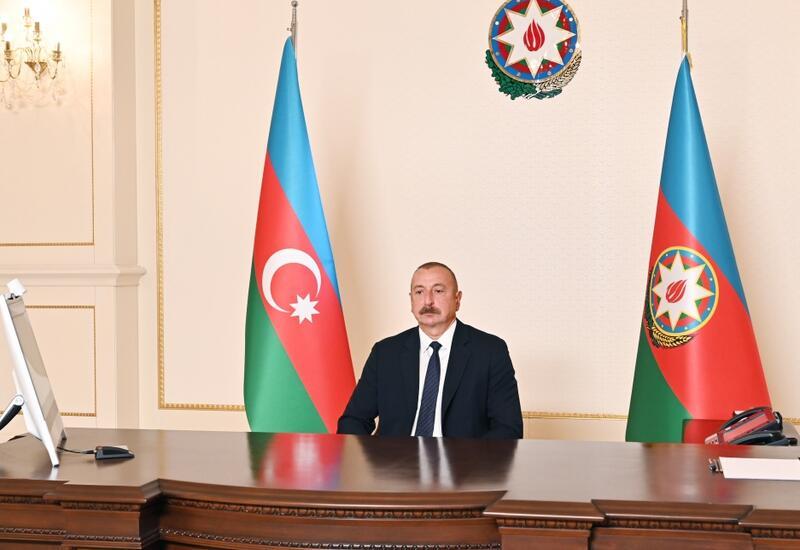 Президент Ильхам Алиев: Мы отвергаем все обвинения против Азербайджана, связанные с привлечением Израиля на освобожденные земли