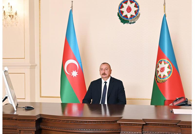 Президент Ильхам Алиев: Италия - одна из первых стран, привлеченных к работам по реконструкции на освобожденных территориях
