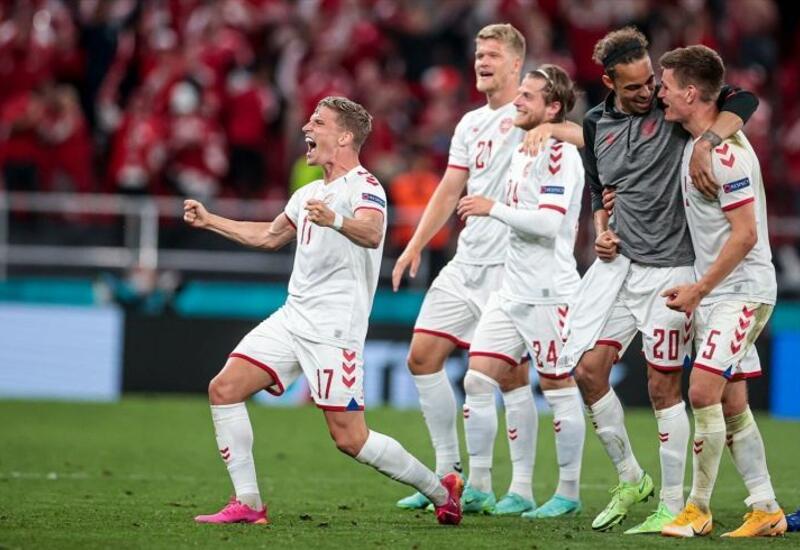 Сборная Дании досрочно вышла на ЧМ-2022