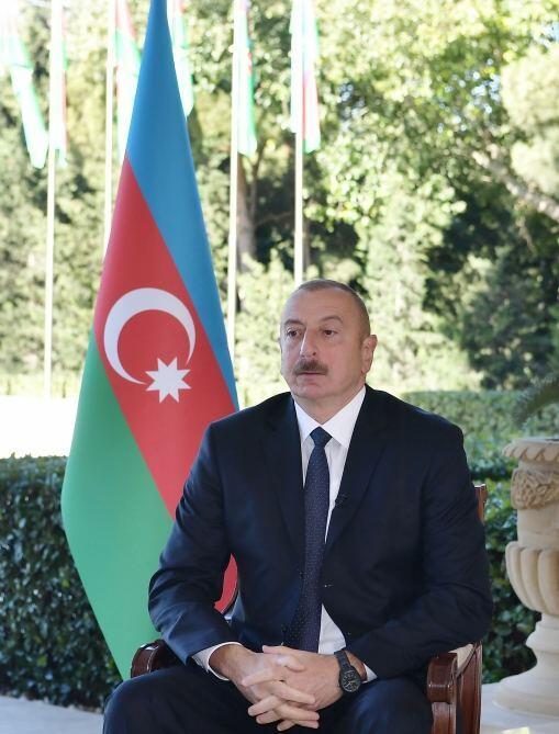 Хроника Победы: Интервью Президента Ильхама Алиева турецкому телеканалу Haber Türk от 13 октября 2020 года
