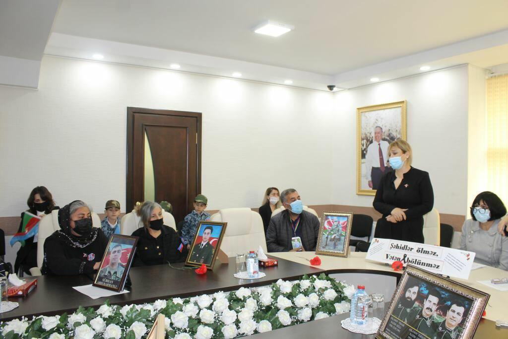 """В Баку прошло мероприятие """"Шехиды, которые принесли Победу"""""""