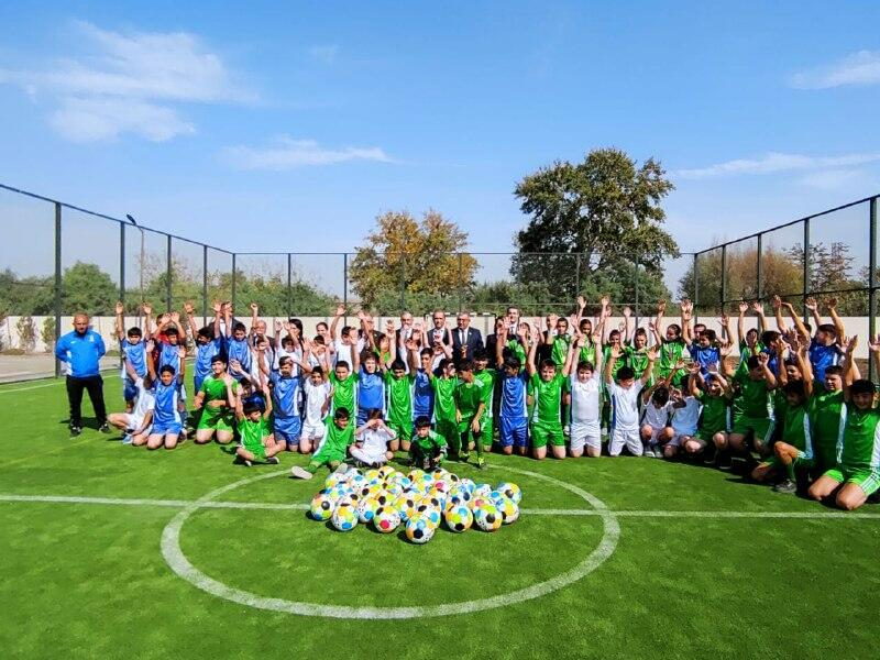 """Очередное мероприятие по проекту """" Развиваем спорт в селах"""" проведено в Сальянском районе"""