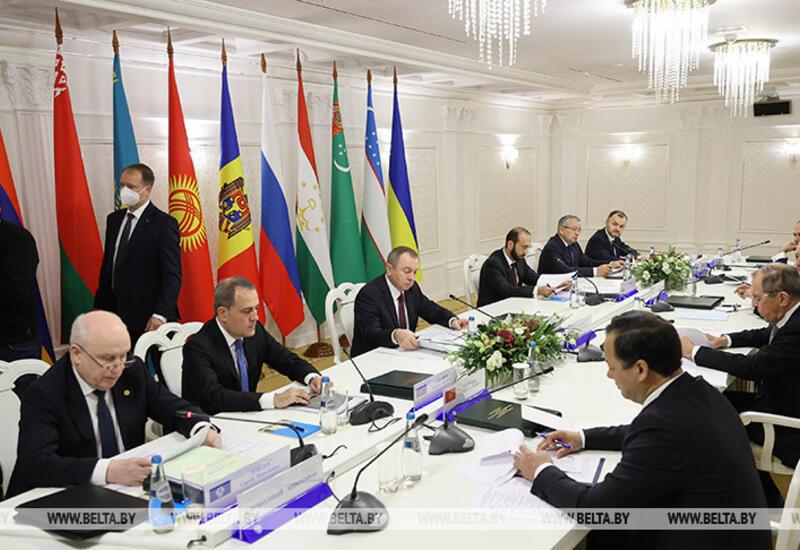 В Минске проходит заседание глав МИД стран СНГ