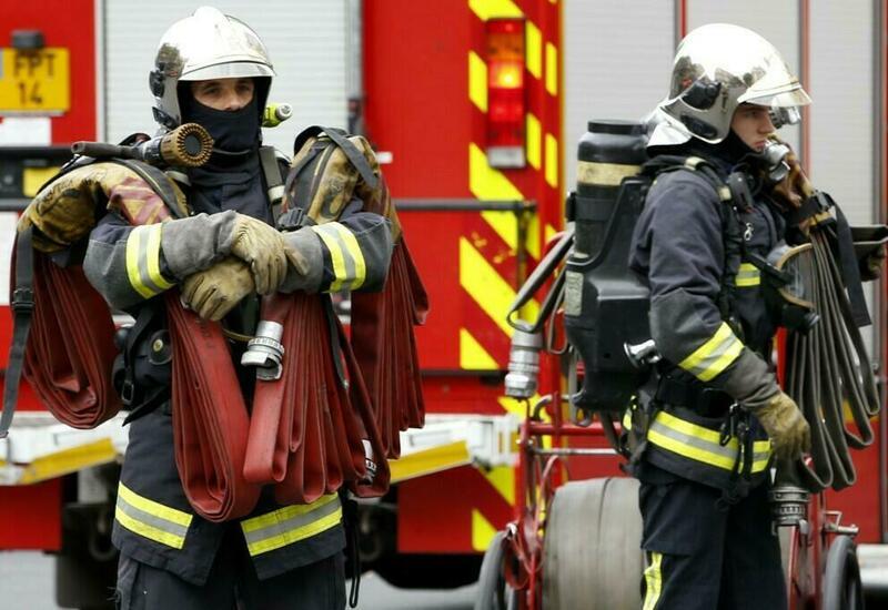 Сильный пожар в Марселе, сгорели около 30 прогулочных катеров