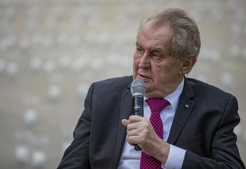 Стал известен диагноз помещенного в госпиталь президента Чехии