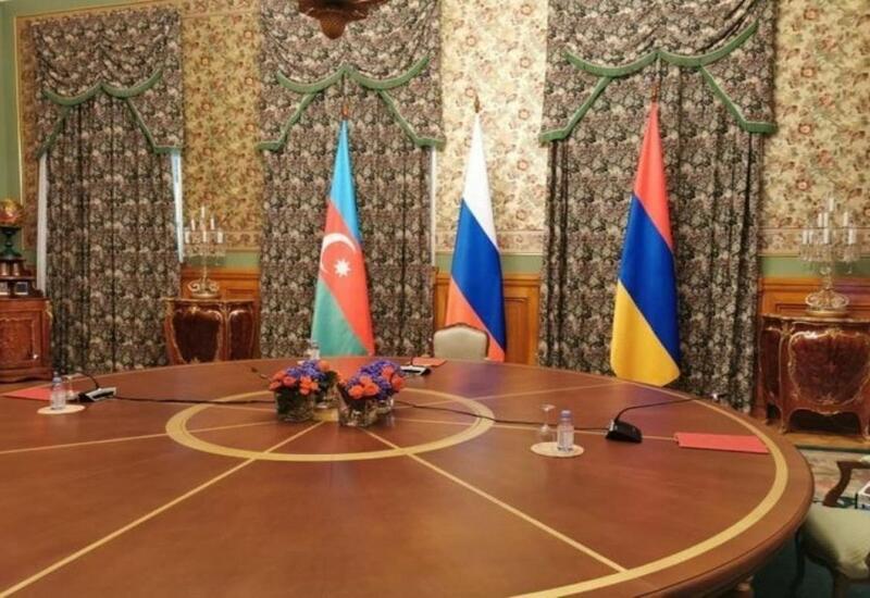 В Минске прошла трехсторонняя встреча между главами МИД Азербайджана, России и Армении