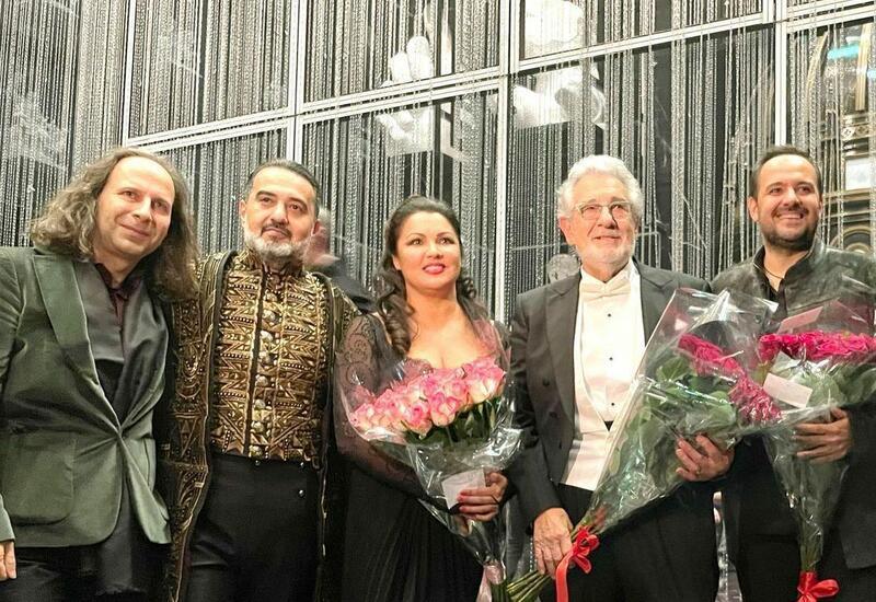 Эльчин Азизов выступил в Большом театре России