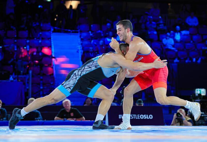 Азербайджанский борец возглавил мировой рейтинг