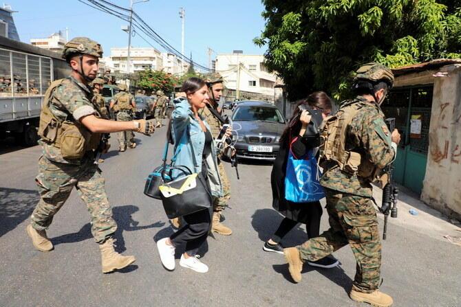 Совет безопасности Ливана призвал к сохранению гражданского мира в стране