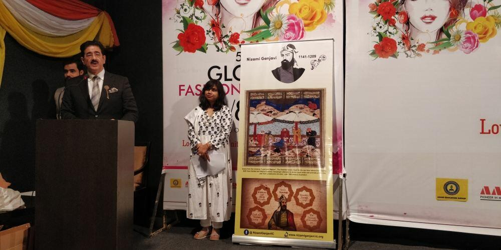 В Индии прошло модное дефиле, посвященное Азербайджану