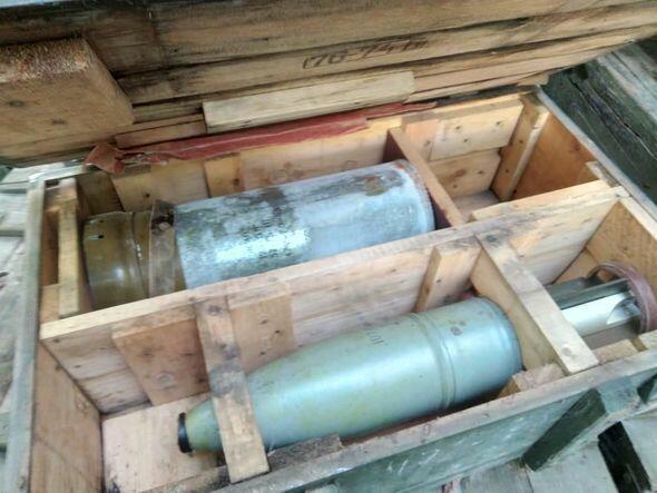 В Ходжавенде найдены танковые снаряды