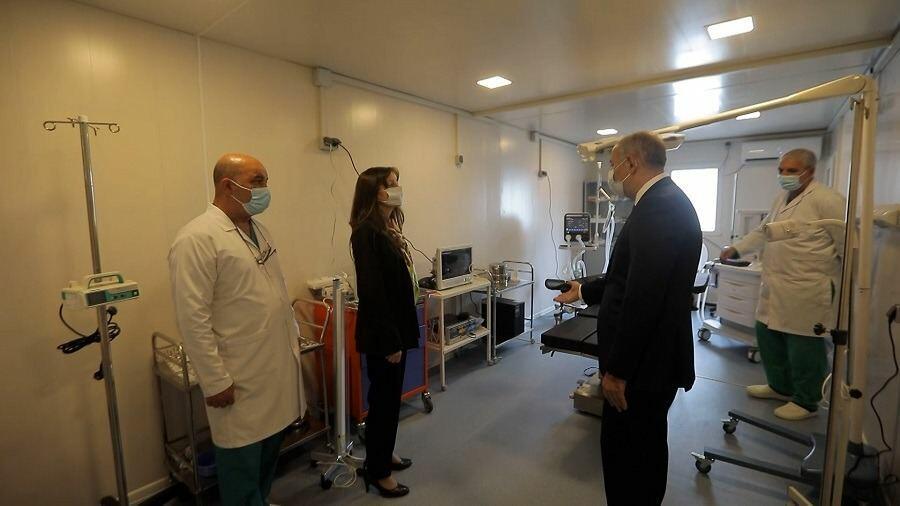 Названы услуги, которые будут оказываться в модульной больнице города Шуша