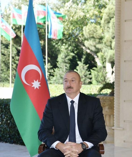Хроника Победы: Интервью Президента Ильхама Алиева телеканалу France 24 от 14 октября 2020 года