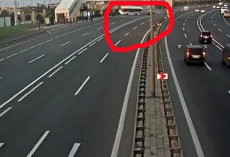 Опубликован момент страшного ДТП в Баку